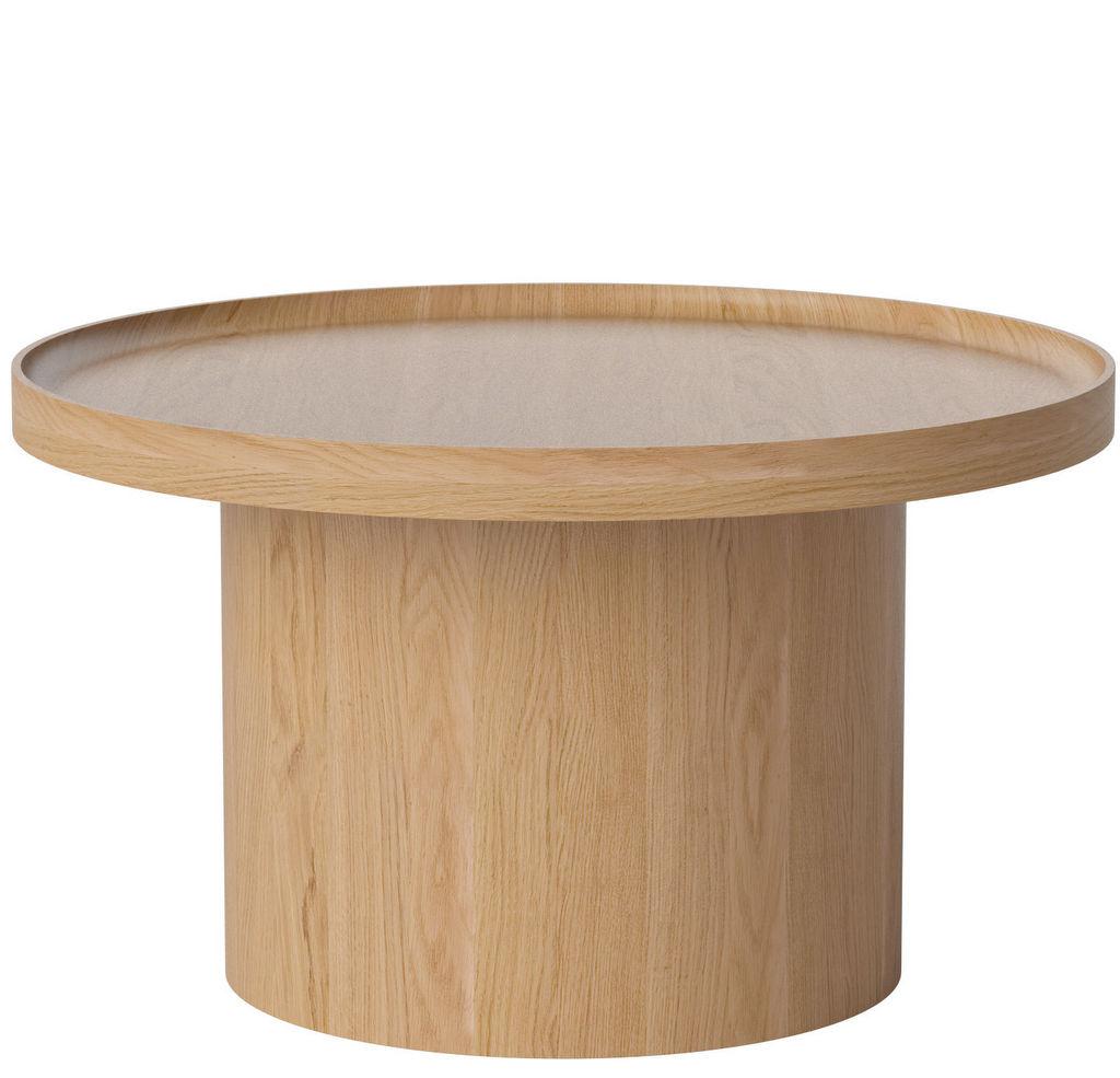 table basse ronde design bois