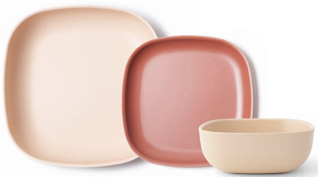 vaisselle rose et terracotta