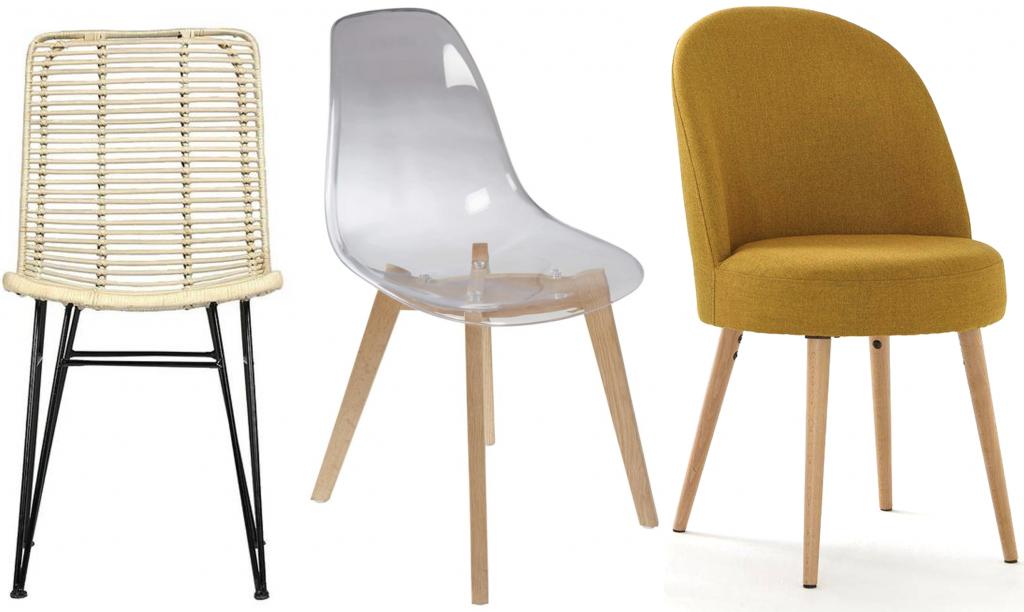 comment assortir chaises dépareillées