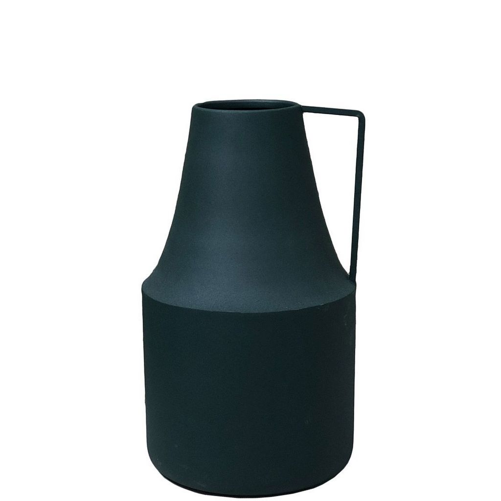 vase à anse vert