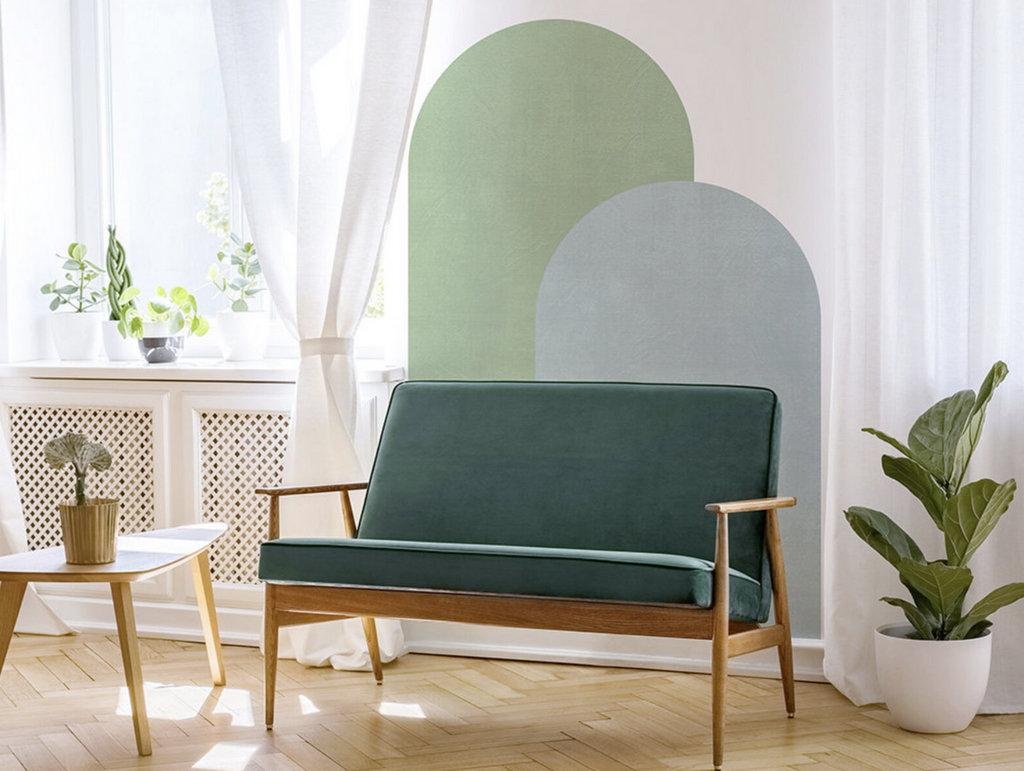arche verte sur mur