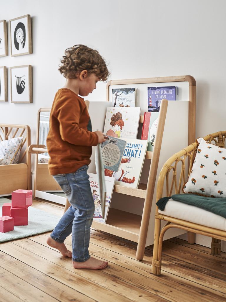 étagère à livres montessori la redoute
