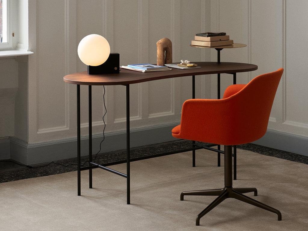 fauteuil de bureau rouge coquelicot