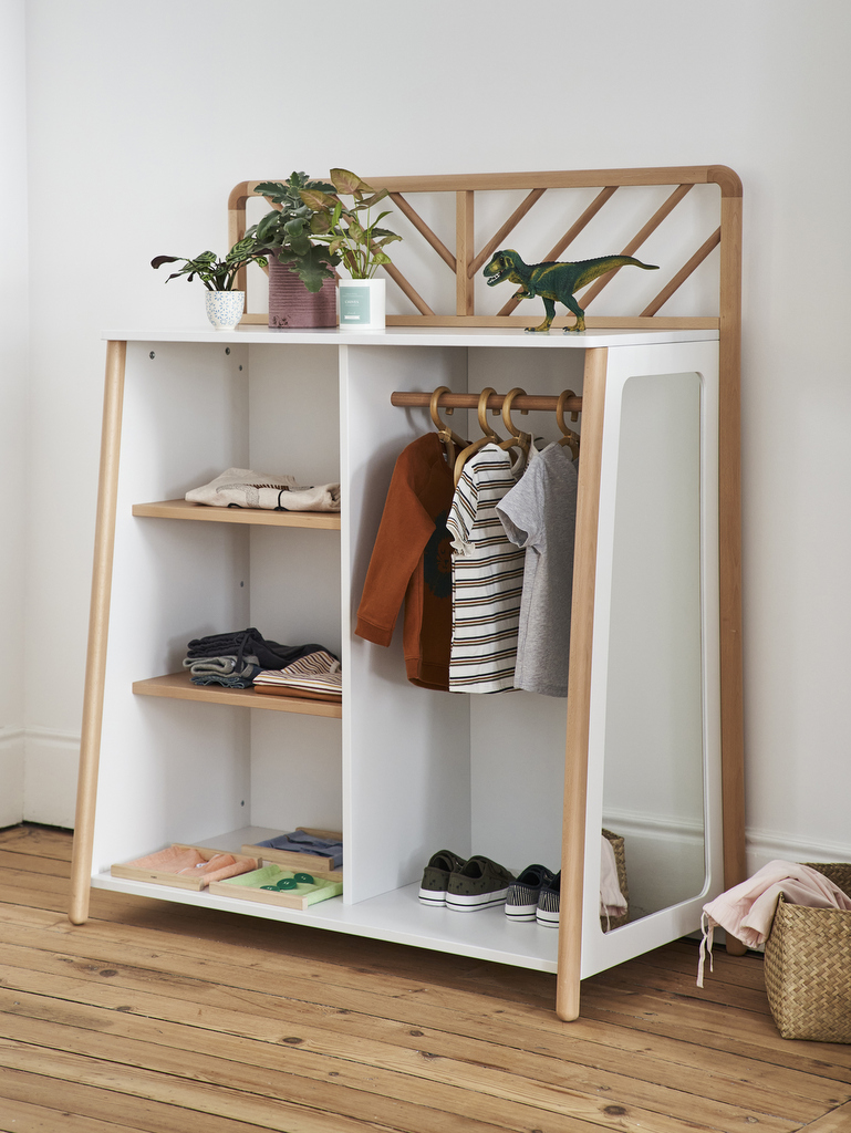 meuble montessori rangement