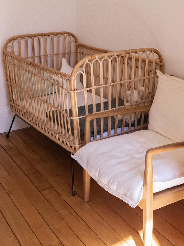 lit enfant rotin