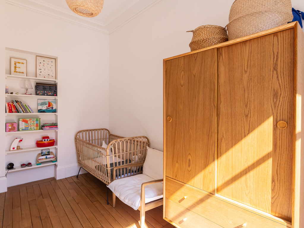 chambre enfant vintage