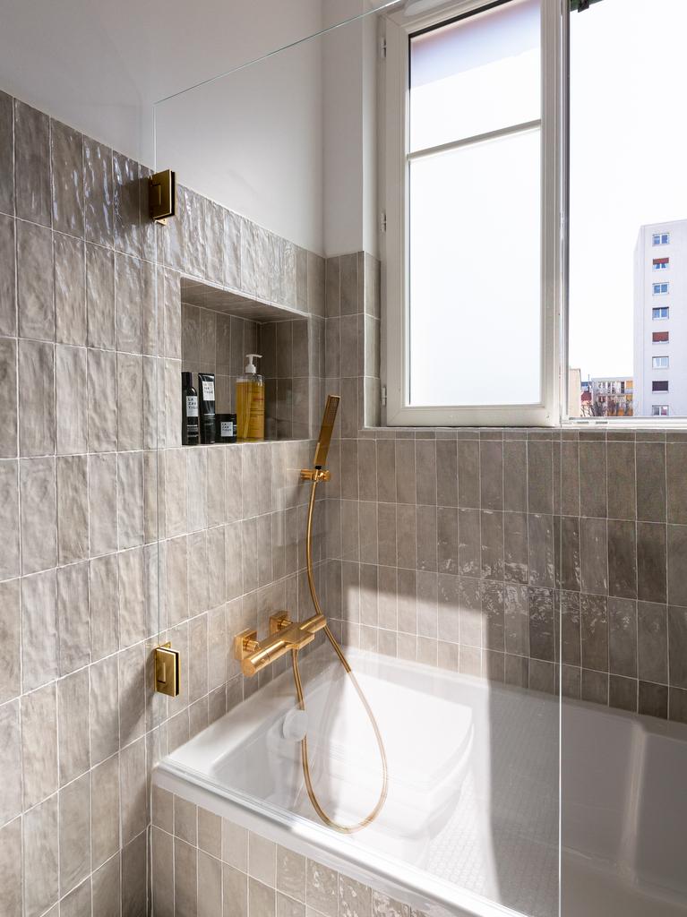 carrelage beige salle de bain