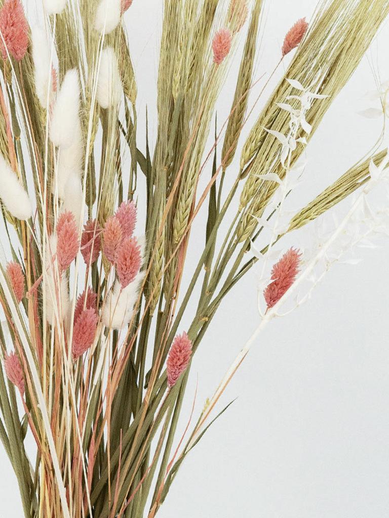 bar à fleurs séchées