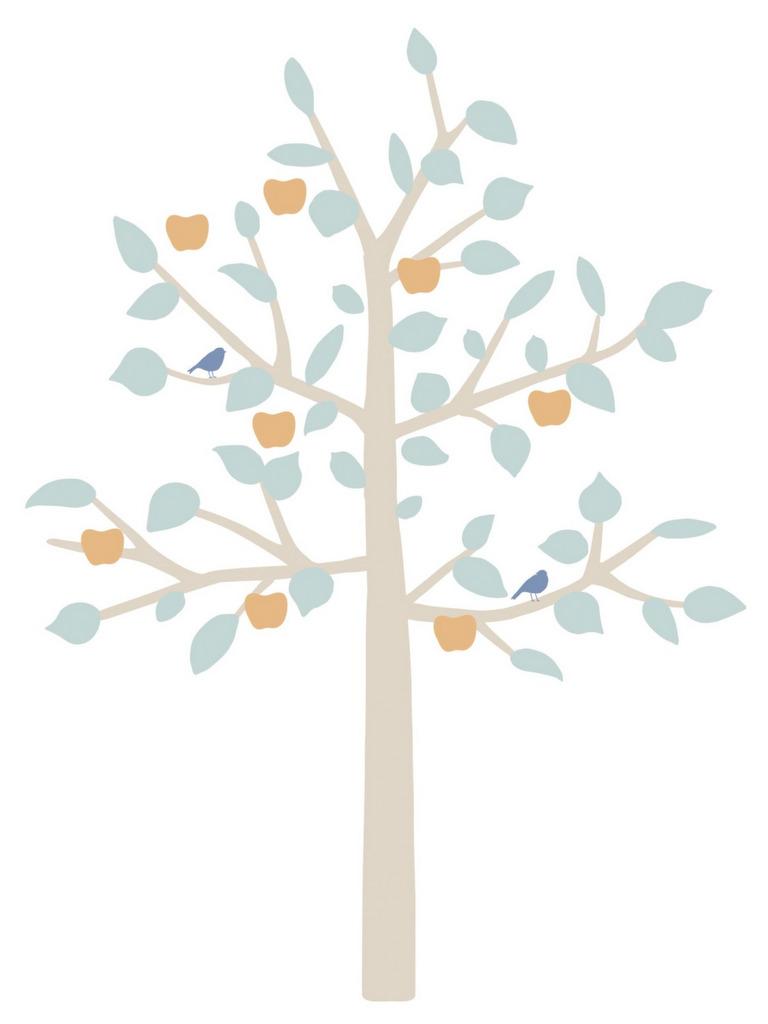 sticker enfant arbre