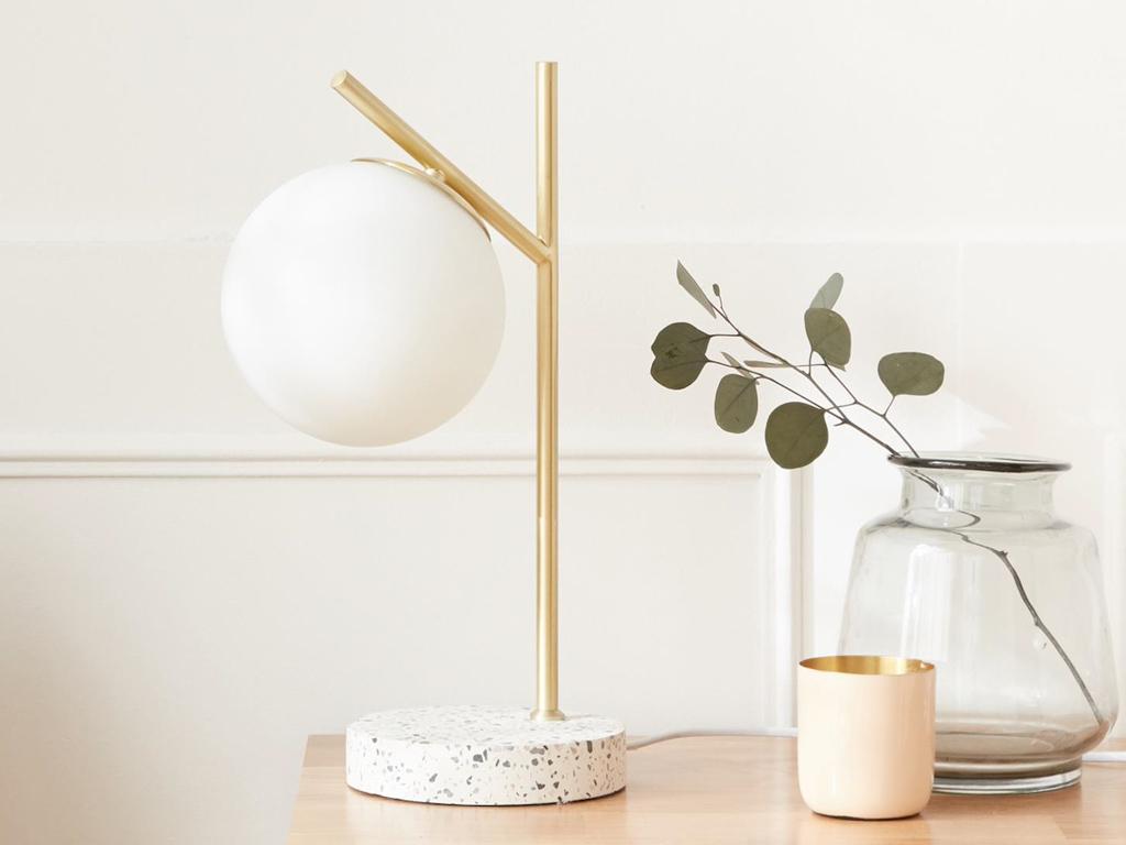 lampe chevet globe