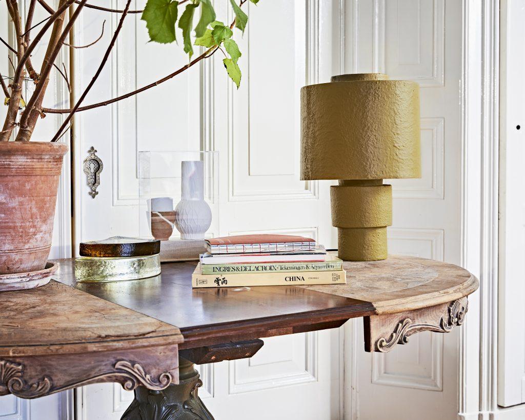 lampe design jaune