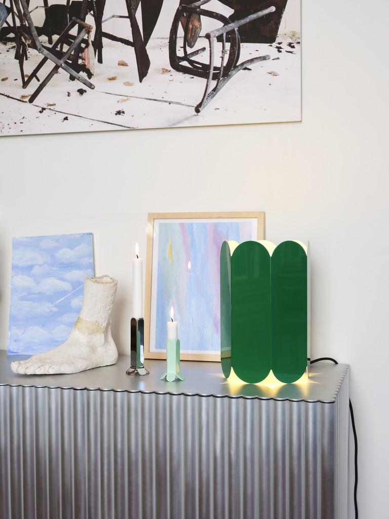 lampe verte