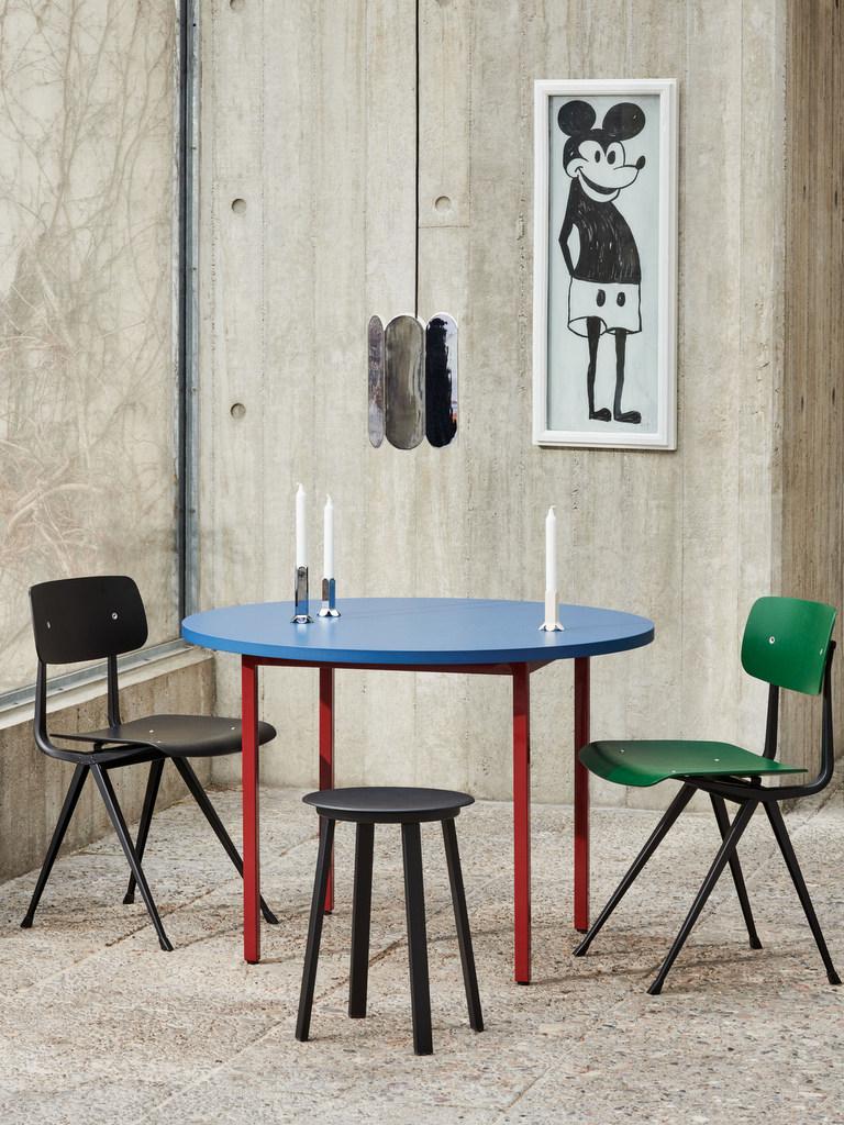 table ronde couleur