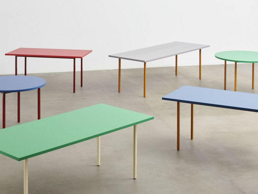table de repas couleur