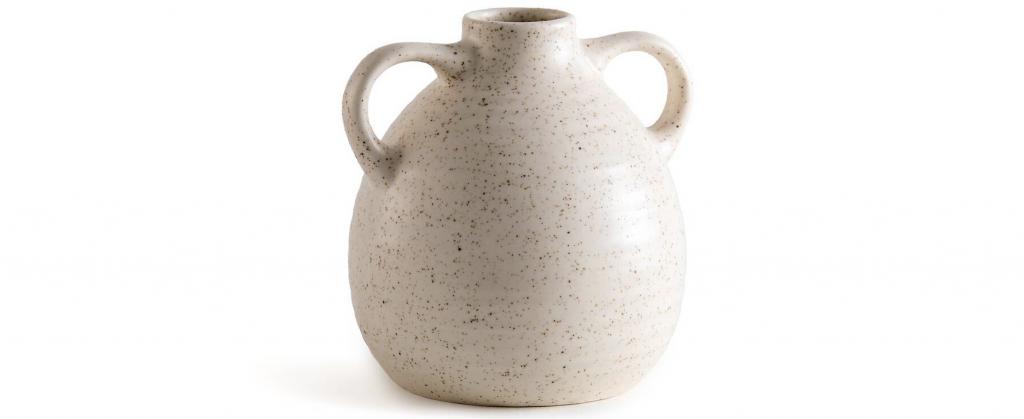 vase à anses en céramique