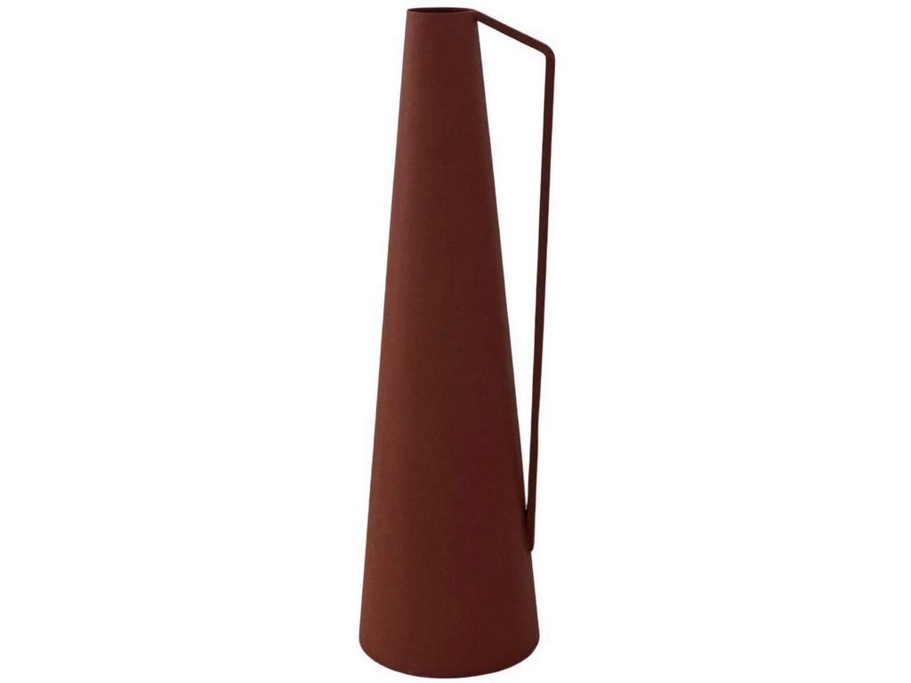 vase à anse rouge