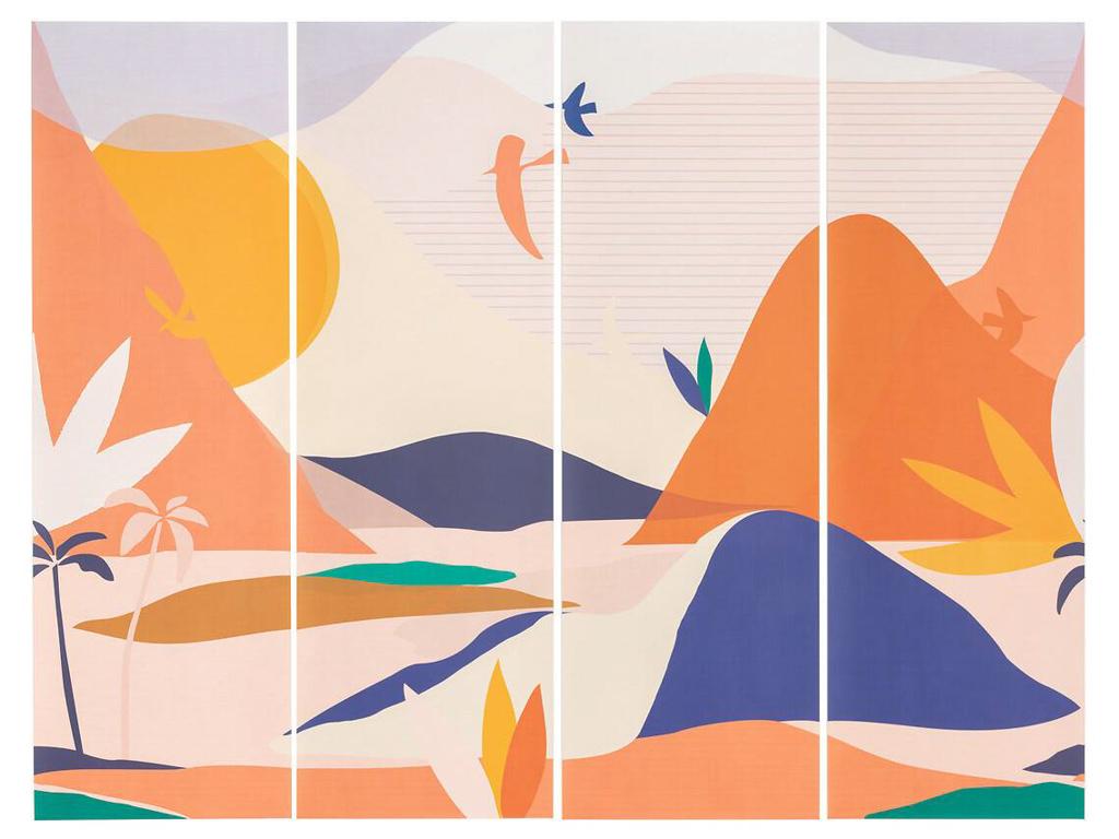 papier peint panoramique enfant