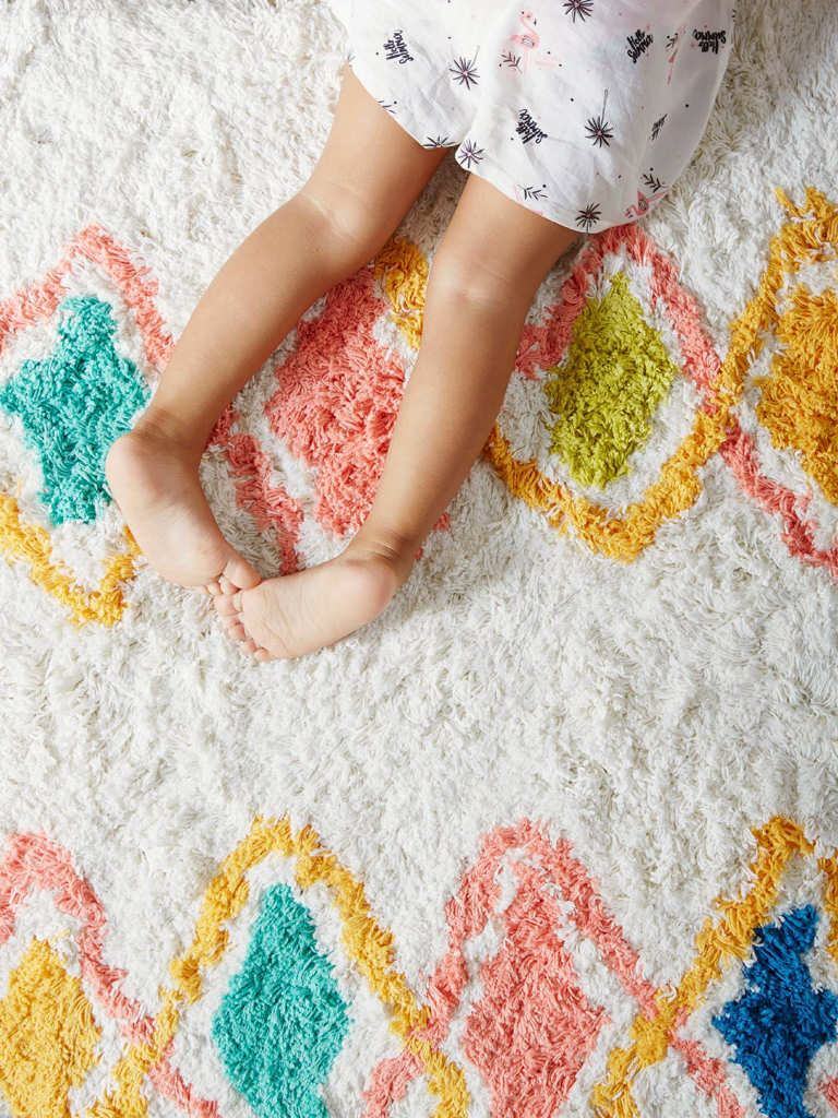 tapis berbère enfant